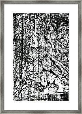Dice Framed Print by Jera Sky