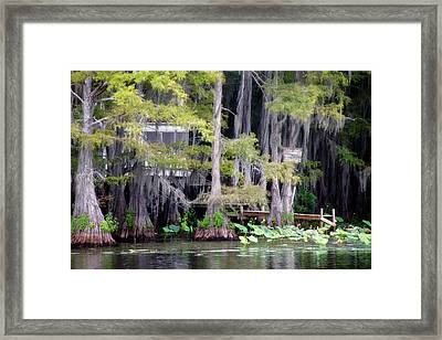 Dick And Charlies Tea Room Framed Print by Lana Trussell