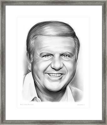 Dick Van Patten Framed Print by Greg Joens