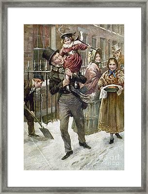 Dickens: A Christmas Carol Framed Print by Granger