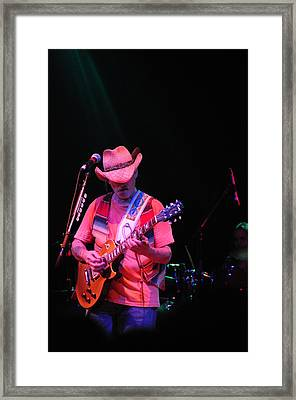 Dickie Betts Framed Print by Mike Martin