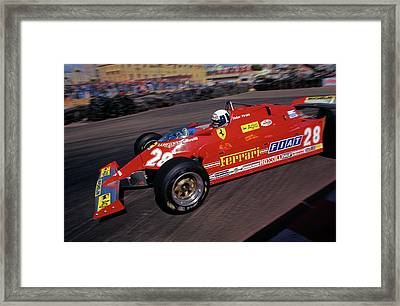 Didier Does Long Beach Framed Print by Mike Flynn