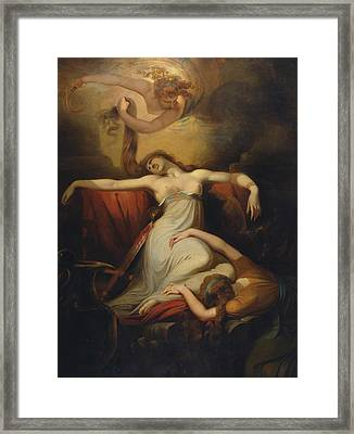 Dido  Framed Print by Henry Fuseli