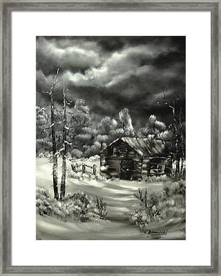 Die Alte Huette Framed Print by Eva Borowski