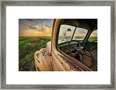 Died Here Framed Print by Thomas Zimmerman