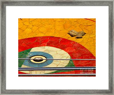 Diego Rivera Mural 11 Framed Print by Randall Weidner