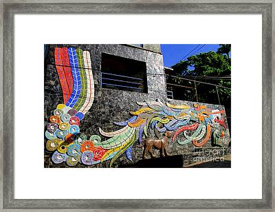 Diego Rivera Mural 2 Framed Print by Randall Weidner
