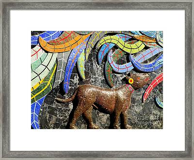 Diego Rivera Mural 4 Framed Print by Randall Weidner