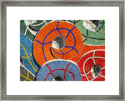 Diego Rivera Mural 8 Framed Print by Randall Weidner