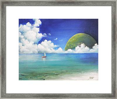 Different Point Of View Framed Print by Susi Galloway