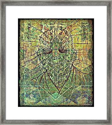 Digging The Thoughts Framed Print by Paulo Zerbato