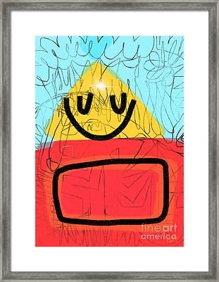 Digital Art Isn't Real Art Framed Print by Will Hoffman