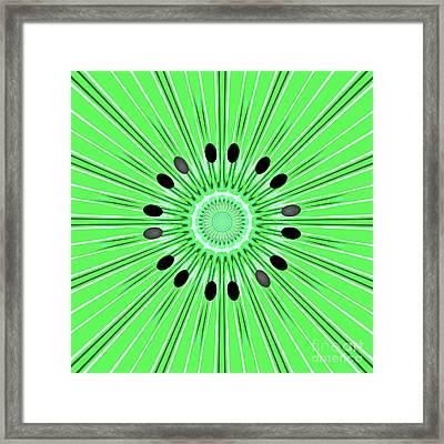 Digital Art Kiwi Framed Print by Gaspar Avila
