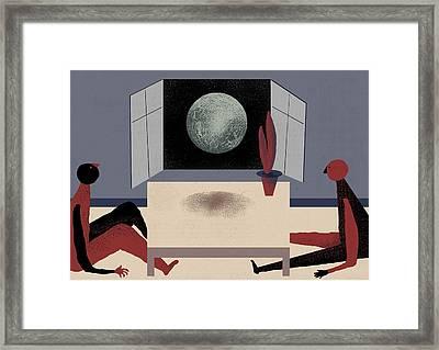 Digress Framed Print by Benjamin Gottwald