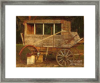 Dilapidated Framed Print by David Lee Thompson