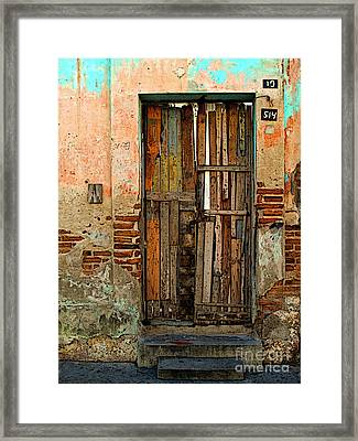 Dilapidated Framed Print by Mexicolors Art Photography
