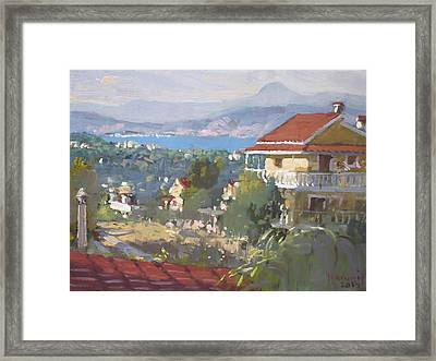 Dilesi Athens Framed Print by Ylli Haruni
