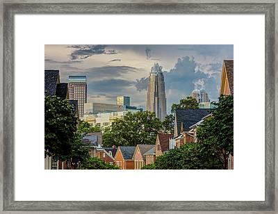 Dilworth Storm Framed Print by Chris Austin