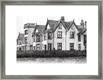 Dimbola Lodge Framed Print by Vincent Alexander Booth