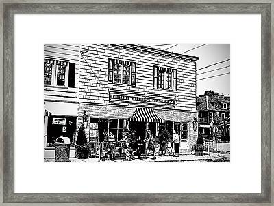 Dinah Lingos Grocery Framed Print by Jost Houk