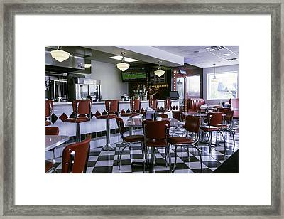Diner New Orleans Framed Print by Garry Gay