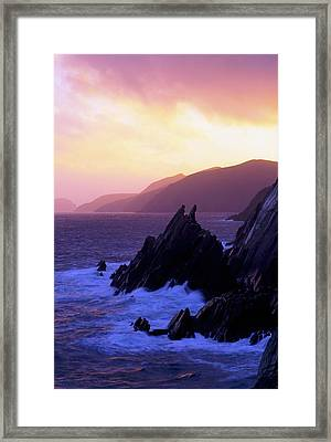 Dingle Peninsula, Co Kerry, Ireland Framed Print by The Irish Image Collection