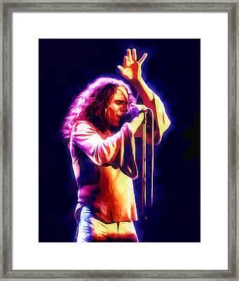 Dio Portrait Framed Print by Scott Wallace
