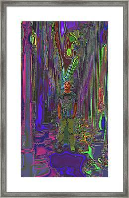 Director - Ramon Garcia Framed Print by Kenneth James