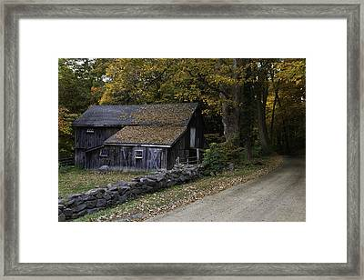 Dirt Roads Are Down To Earth Framed Print by Thomas Schoeller