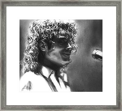 Dirty Diana Framed Print by Carliss Mora