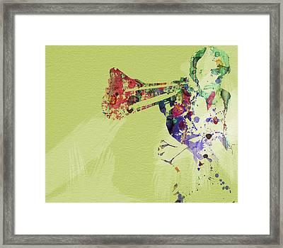 Dirty Harry Framed Print by Naxart Studio