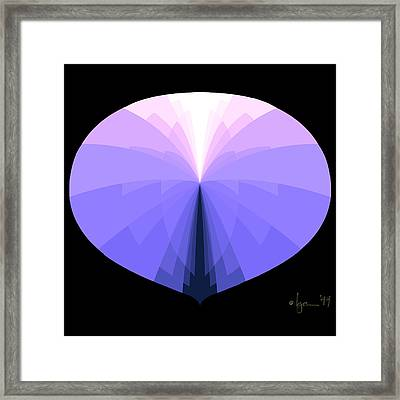 Disappear Framed Print by Angela Treat Lyon
