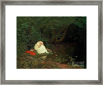 Disappointed Love Framed Print by Francis Danby