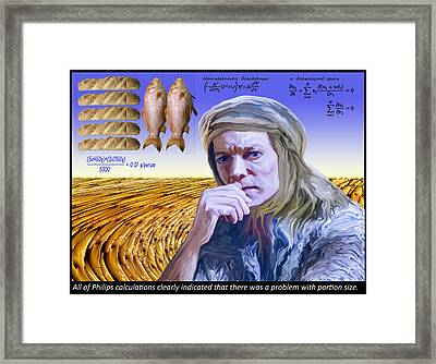 Disciple Philip Framed Print by Chas Hauxby