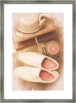 Disco Dancing Shoes Framed Print by Jorgo Photography - Wall Art Gallery