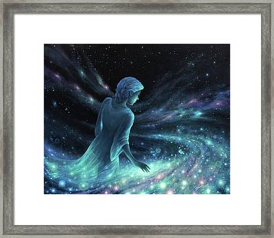 Discovery Framed Print by Lucy West