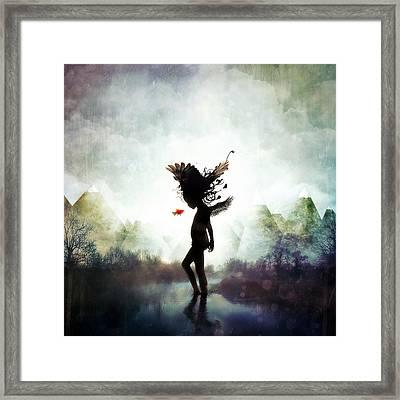 Discovery Framed Print by Mario Sanchez Nevado