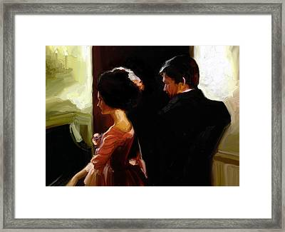 Discreet Whisper Framed Print by Stuart Gilbert
