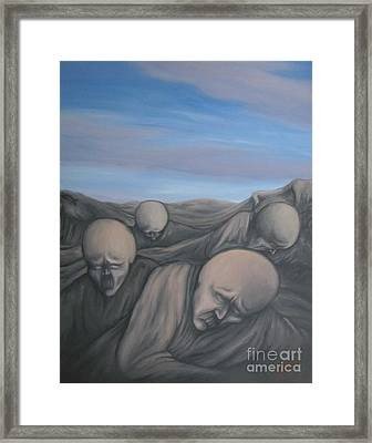 Dismay Framed Print by Michael  TMAD Finney