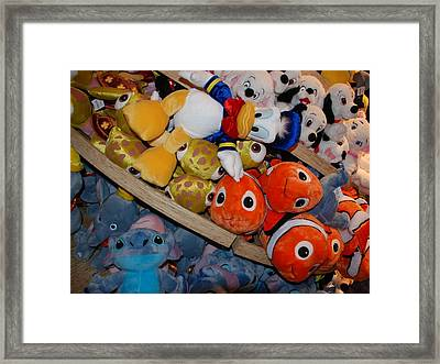 Disney Animals Framed Print by Rob Hans