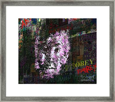 Disobey  Framed Print by Andy  Mercer