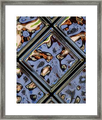 Distortion In Focus Framed Print by Frozen in Time Fine Art Photography