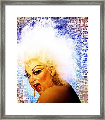 Divine 2 Framed Print by Tony Rubino