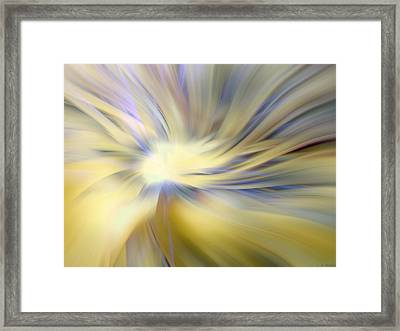 Divine Energy Framed Print by Lauren Radke