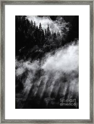 Divine Light Framed Print by Mike Dawson