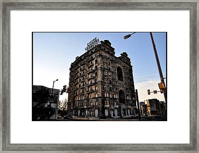 Divine Lorraine Hotel Framed Print by Bill Cannon