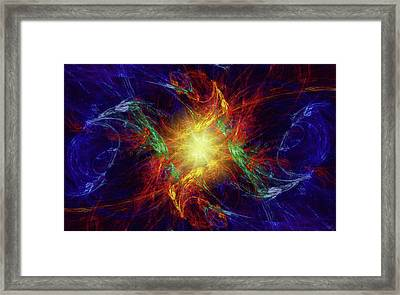 Divine Moment Framed Print by Kenneth Armand Johnson