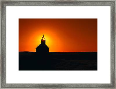 Divine Sunlight Framed Print by Todd Klassy