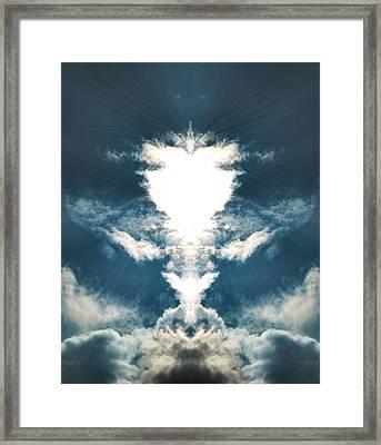 Divine  Framed Print by Thomas  MacPherson Jr