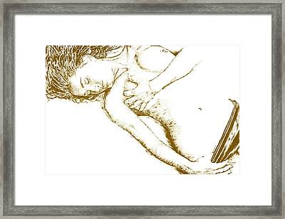 Divinity Framed Print by Richard Young